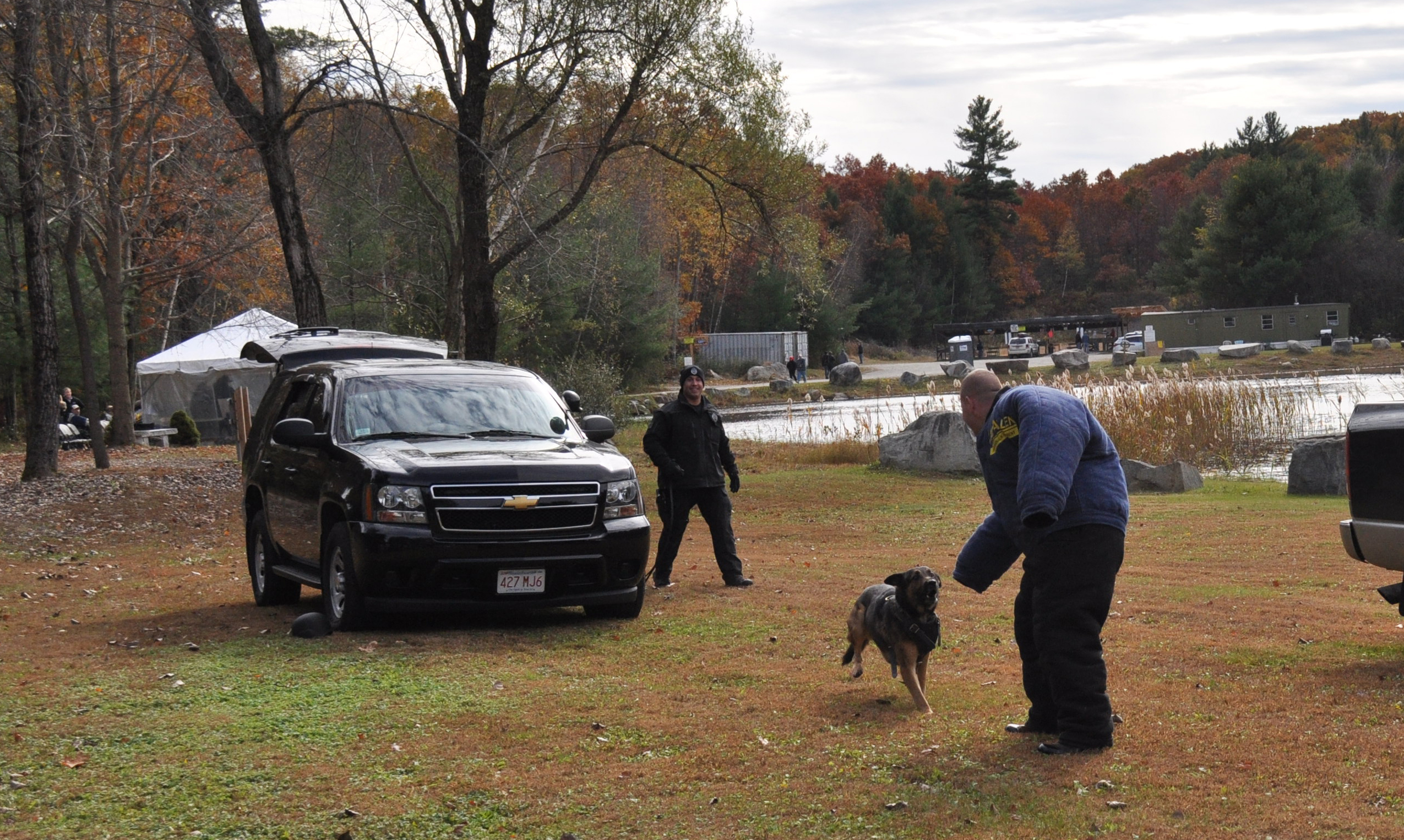 K9 and 2 officers